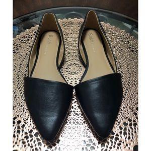 Rohb by Joyce Azeris Black Flats Size 10